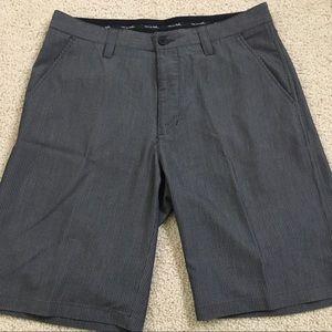 Travis Mathew Pinstripe Shorts